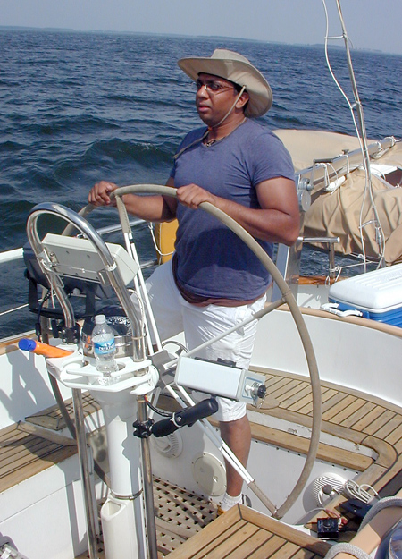 Ashwin at helm