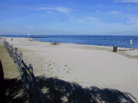 Breezy Point Beach Calvert County tourism