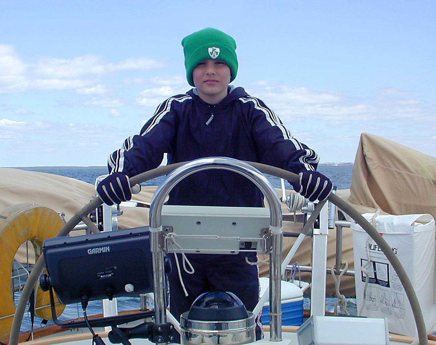 Jack at helm