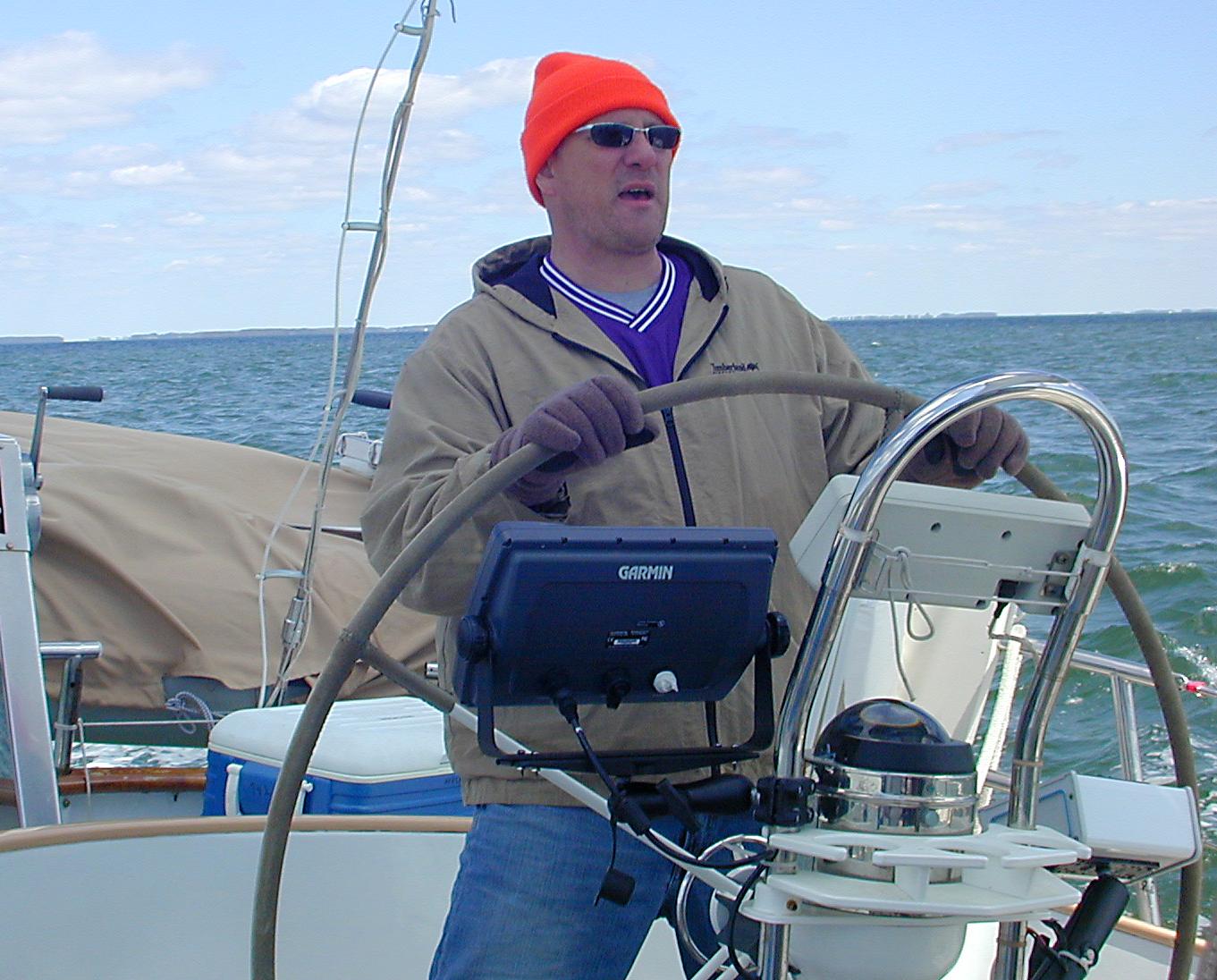 John at helm