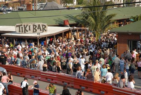 Tiki Bar Opening Solomons Island