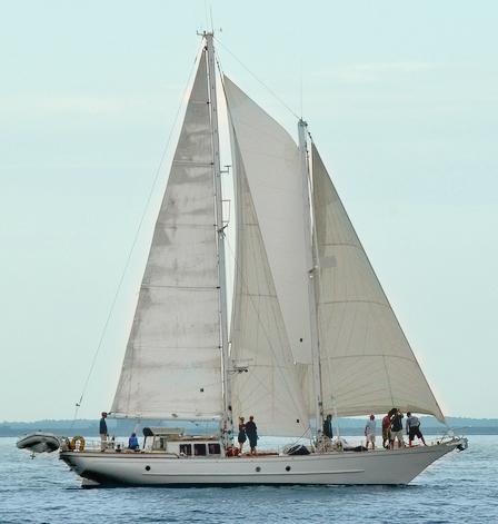 schooner heron